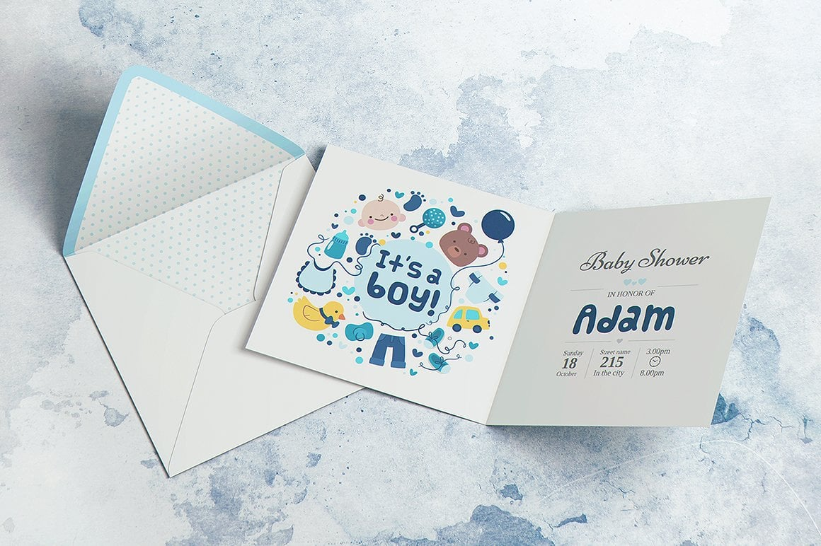 Invitation & Greeting Mockup Bundle