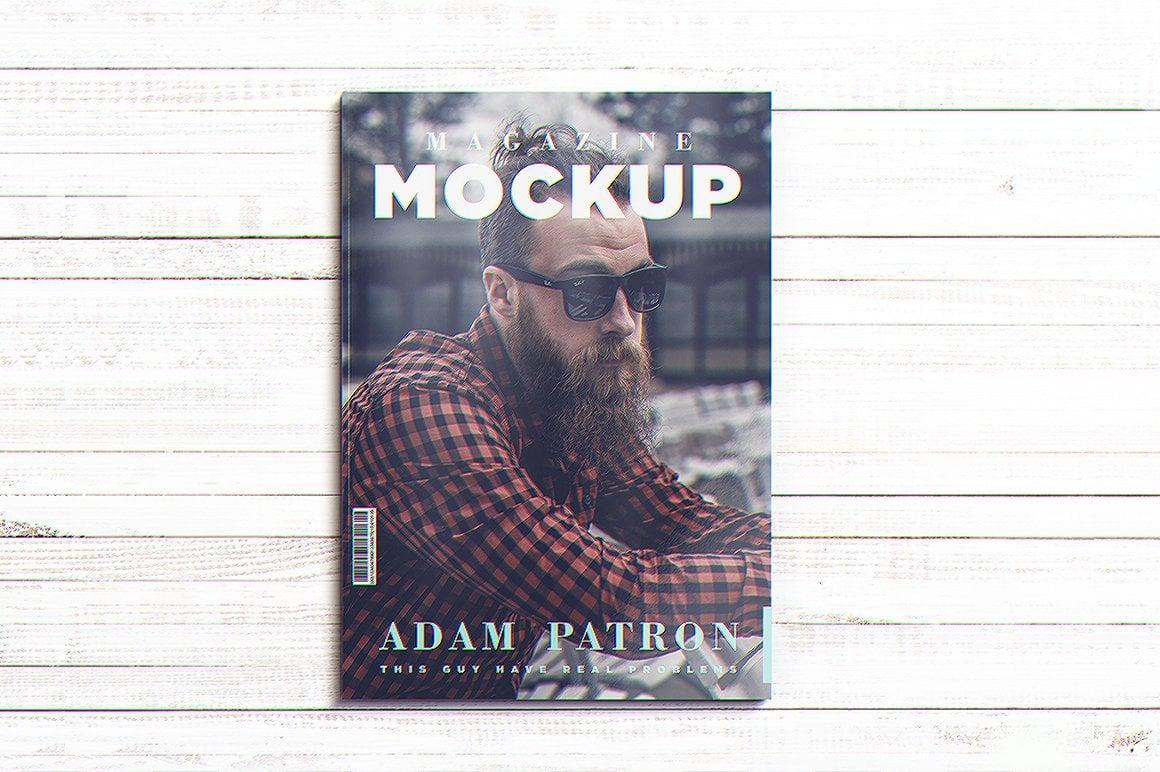 29 Magazine Brochure MockUps (.PSD) + 20 Background Textures. Best Price! - 07 1 2