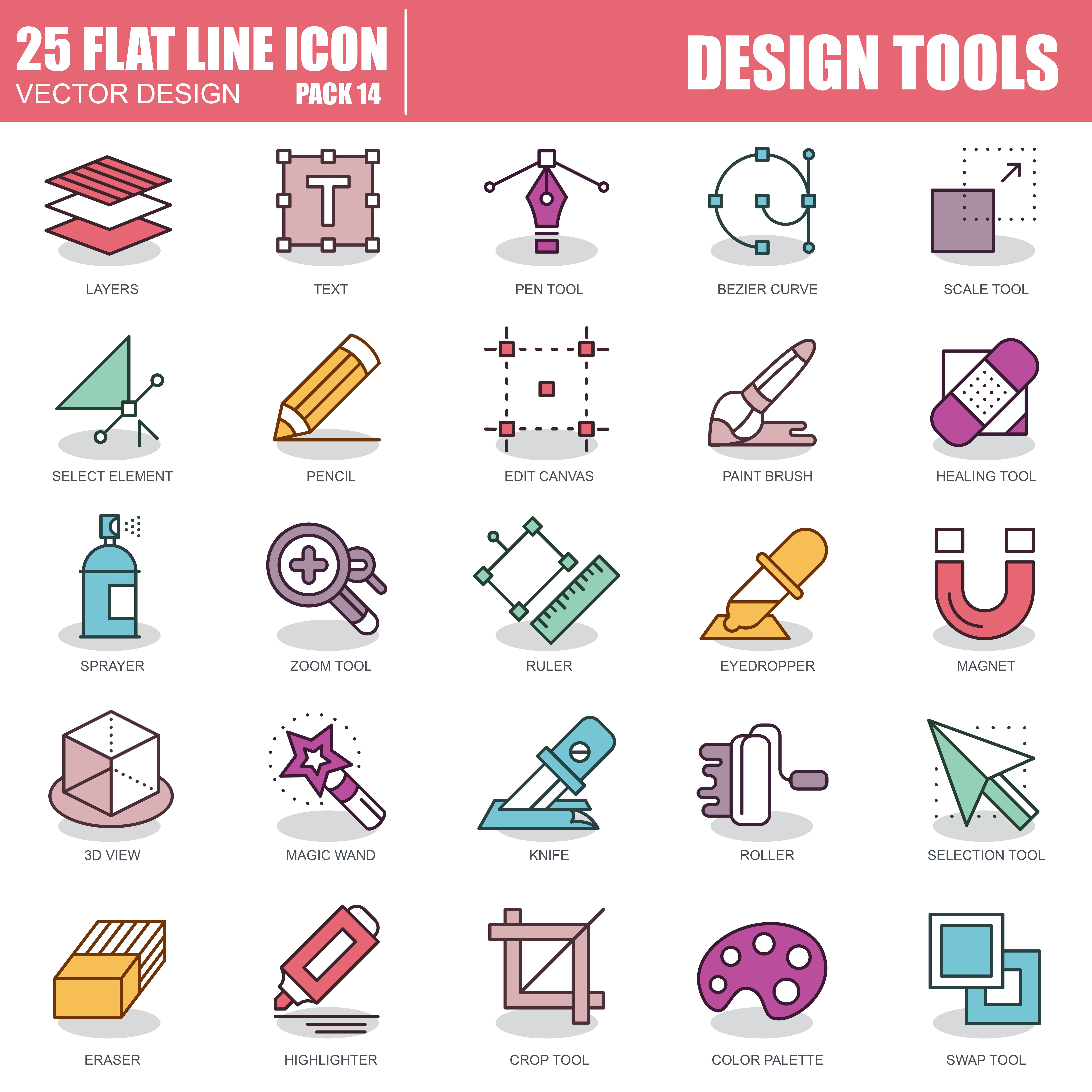 1000 Business Line Icons - just $22 - 14