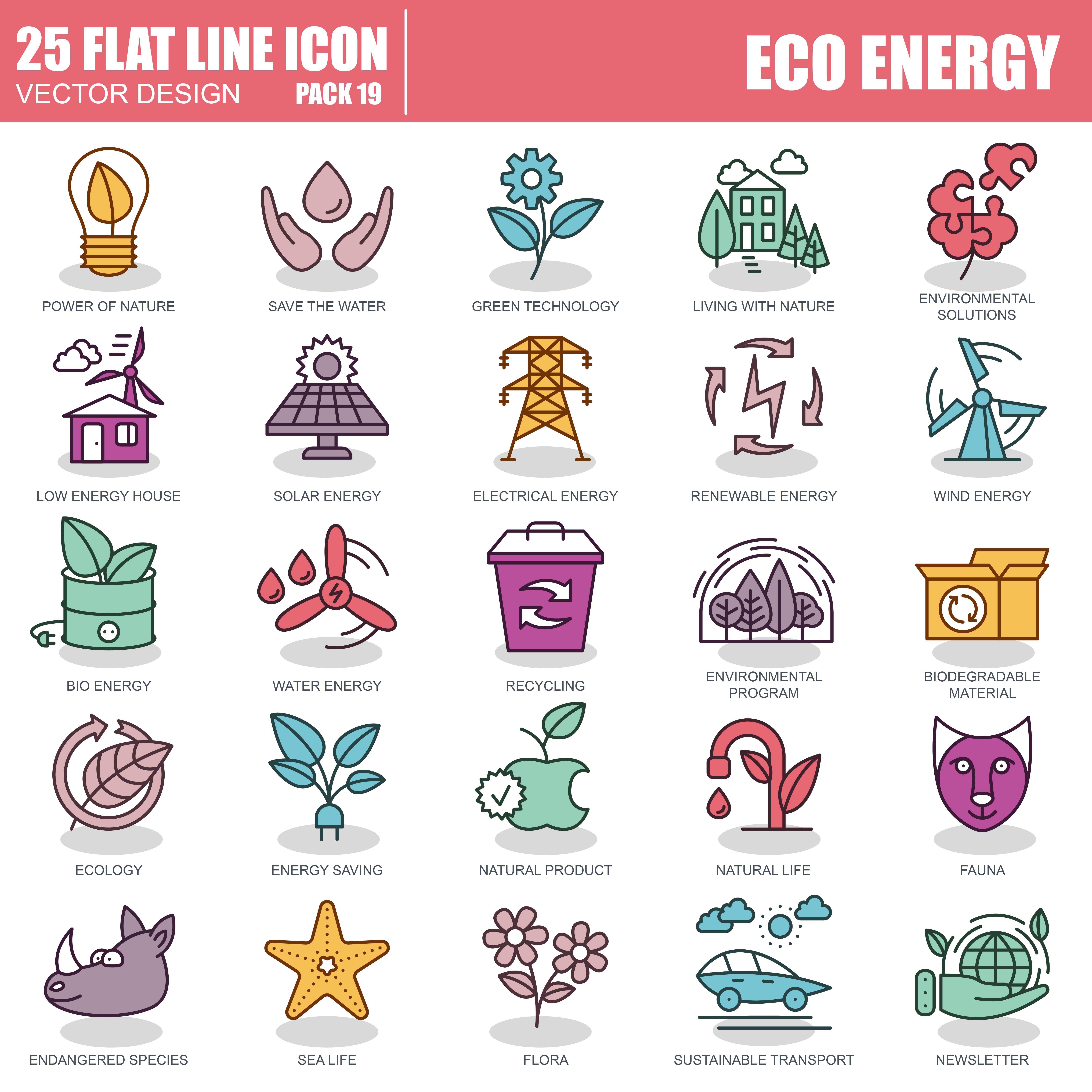 1000 Business Line Icons - just $22 - 19