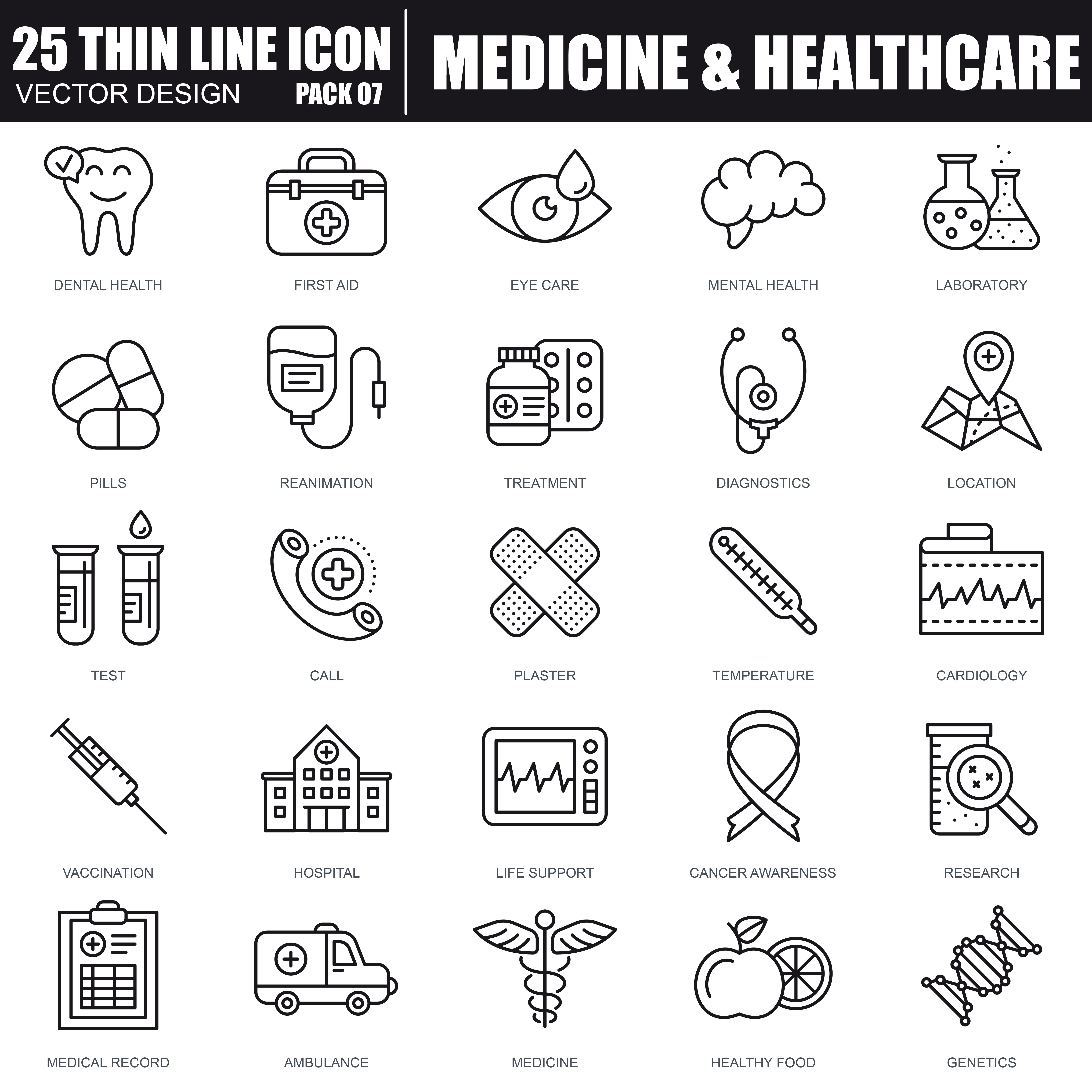 1000 Business Line Icons - just $22 - 27