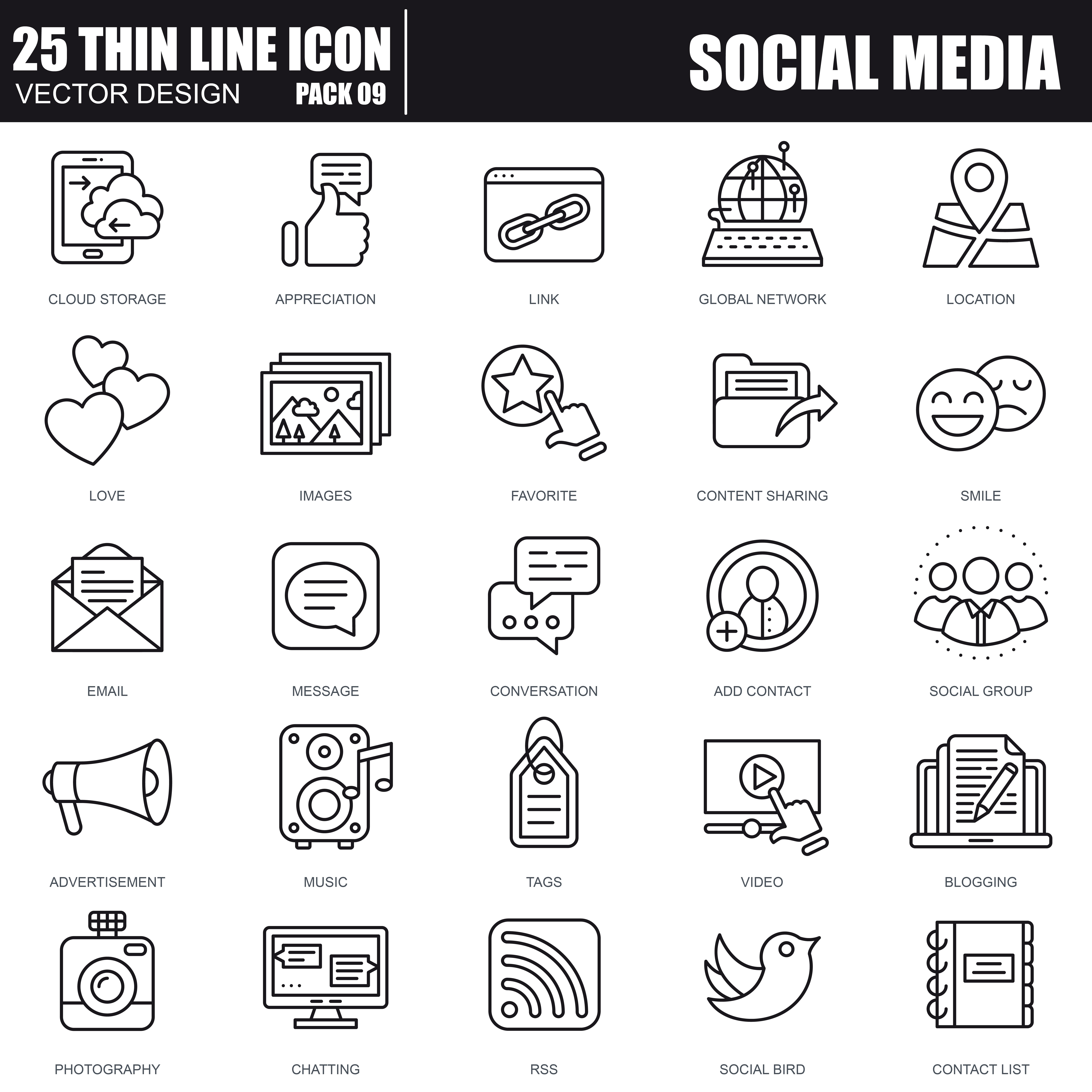 1000 Business Line Icons - just $22 - 29