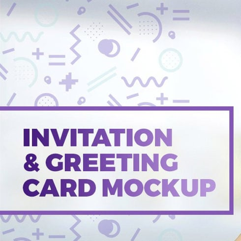 12 Invitation & Greeting Card Mockups 2020 (.PSD) - 490 5 490x490