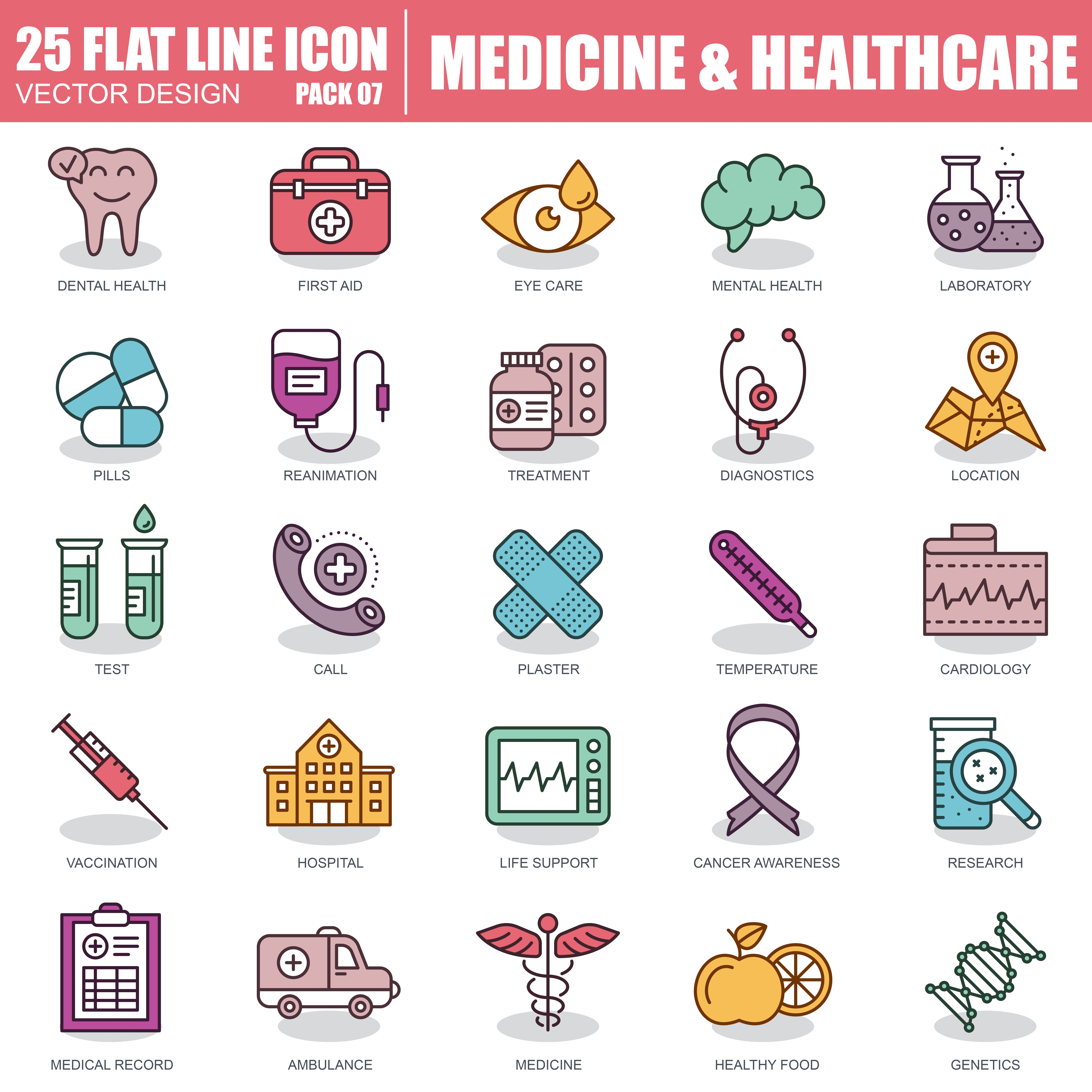 1000 Business Line Icons - just $22 - 7 2