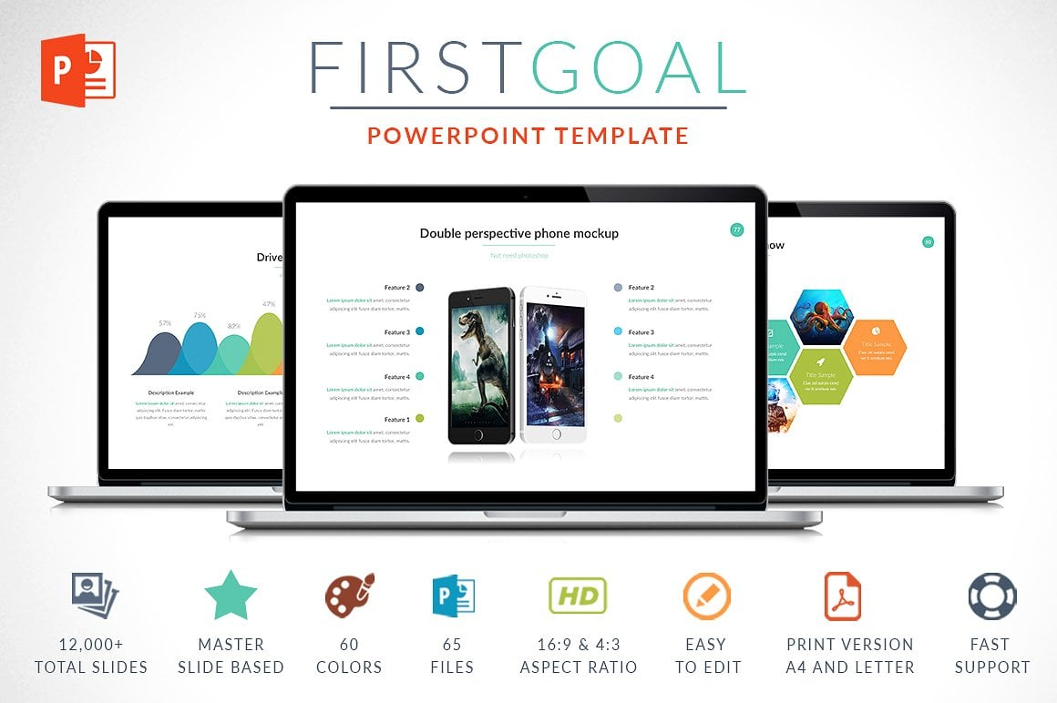 Modern PowerPoint Templates in 2020. Bundle: 44+ Templates - $35 - cover deploy 1 o