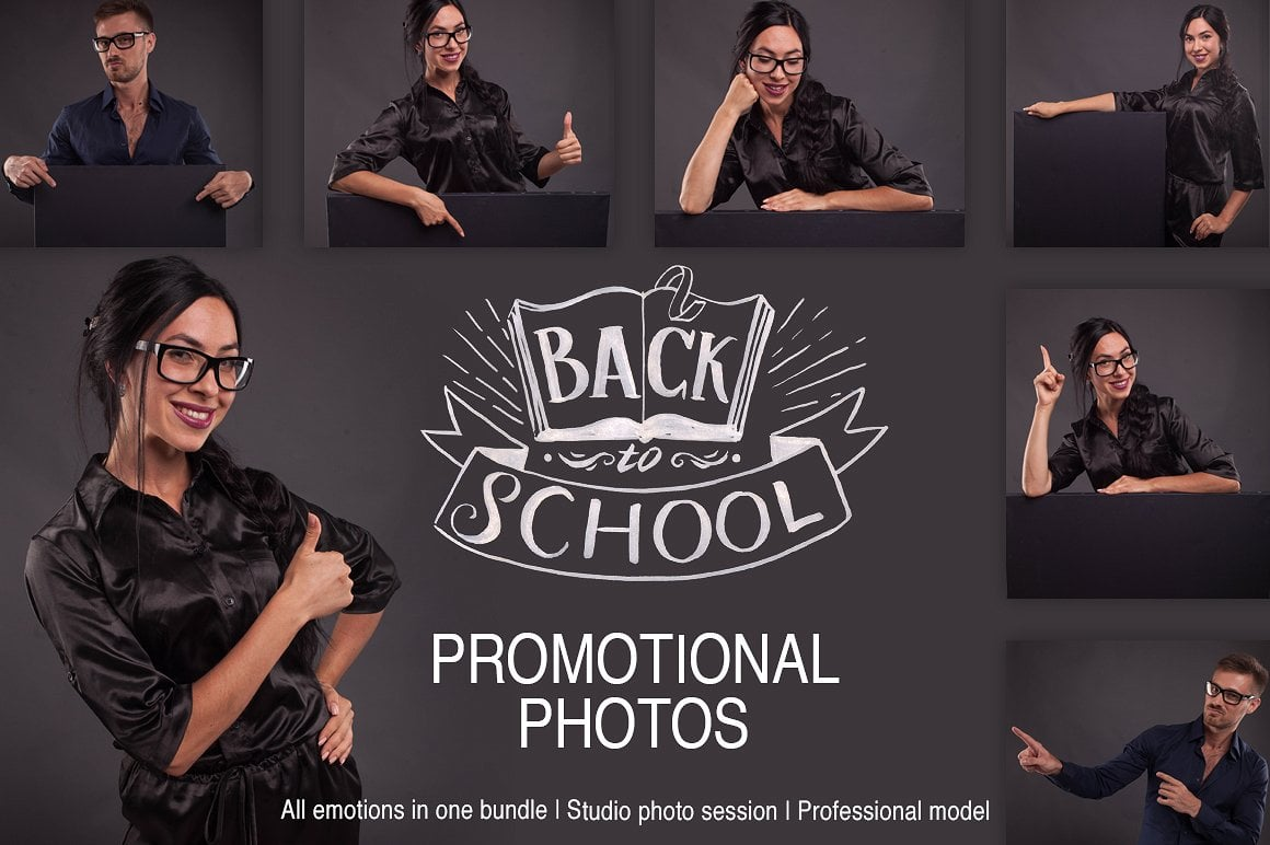 Promotional Photos Bundle - Back to School - 1 1 1