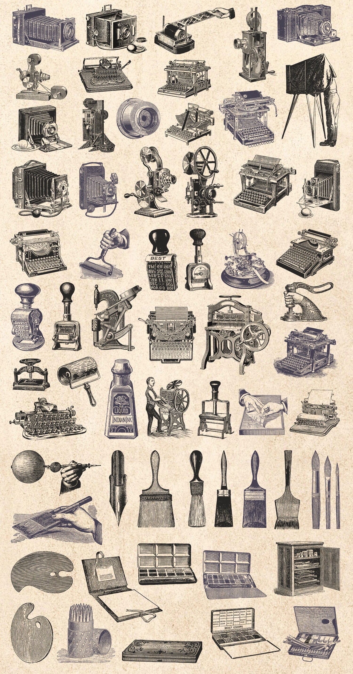 1000 Vintage Illustrations with 80% OFF - 11 creator