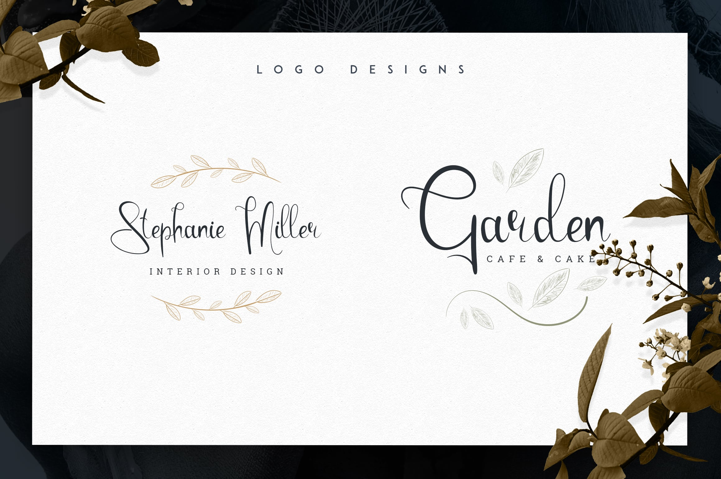 You can use this font for creating amazing logo for your products.