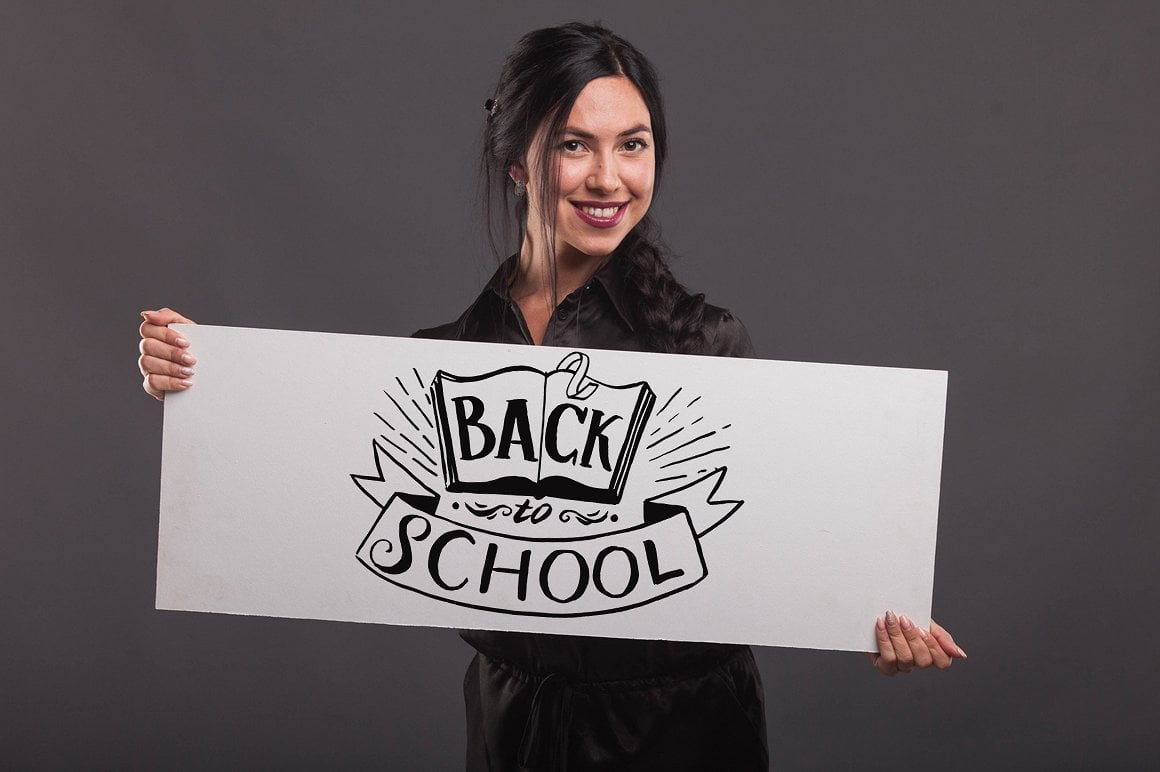 Promotional Photos Bundle - Back to School - 4 1 1