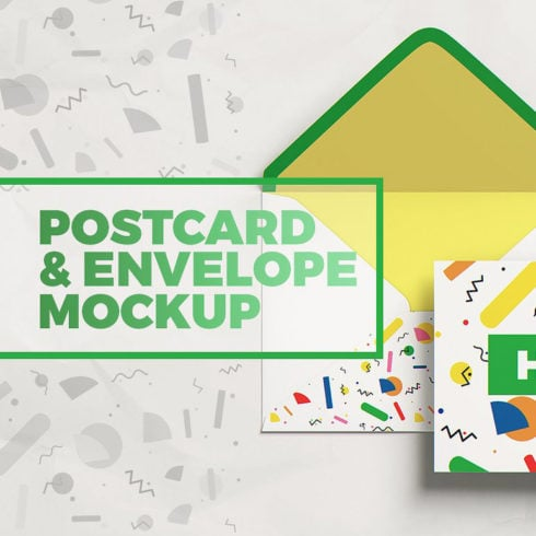 Postcard Mockups Bundle - 490 1 490x490