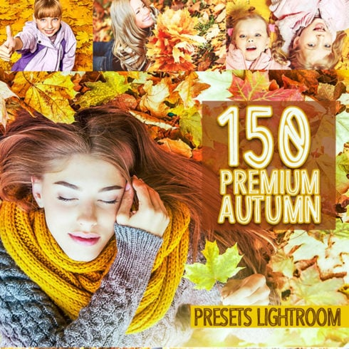 150 Premium Autumn Lightroom Presets - 490 10 490x490