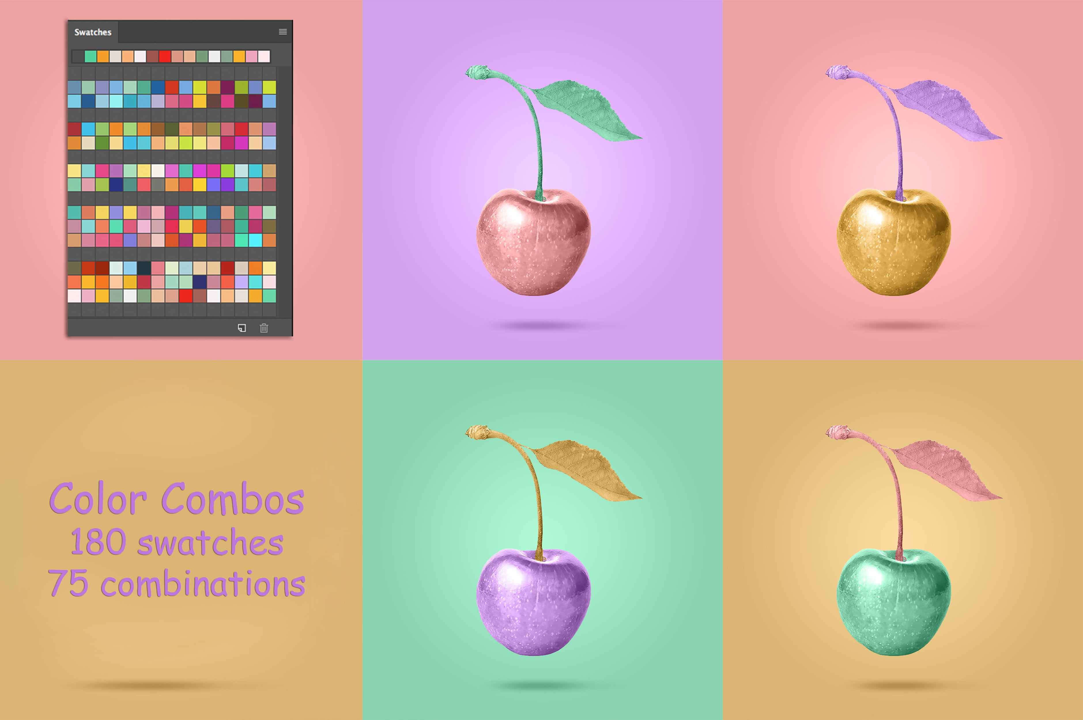 Digital Painting Assets - almost 3000 Elements - Color Combinations