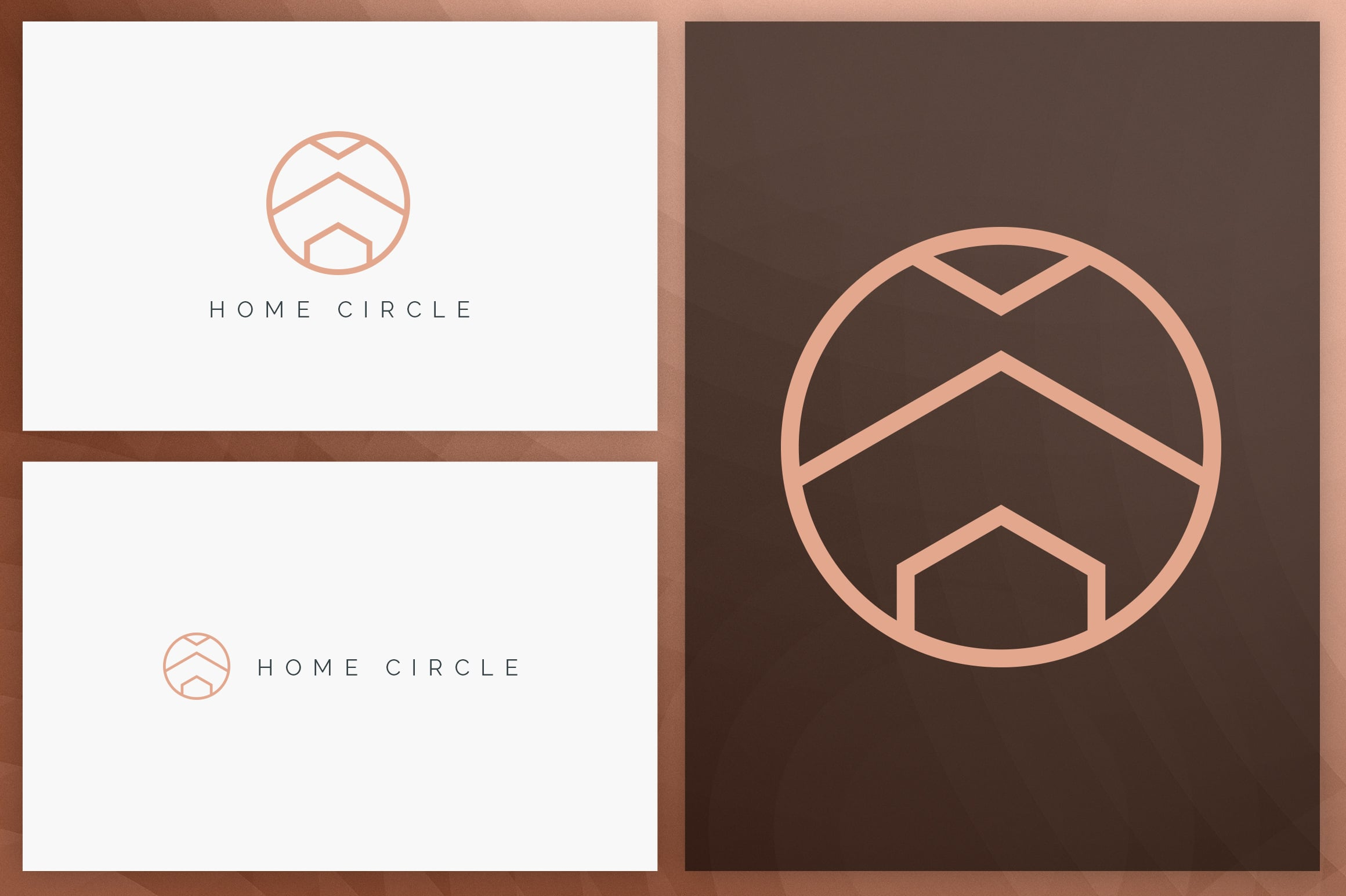 40 Circle Geometric Logo Designs - Logo01