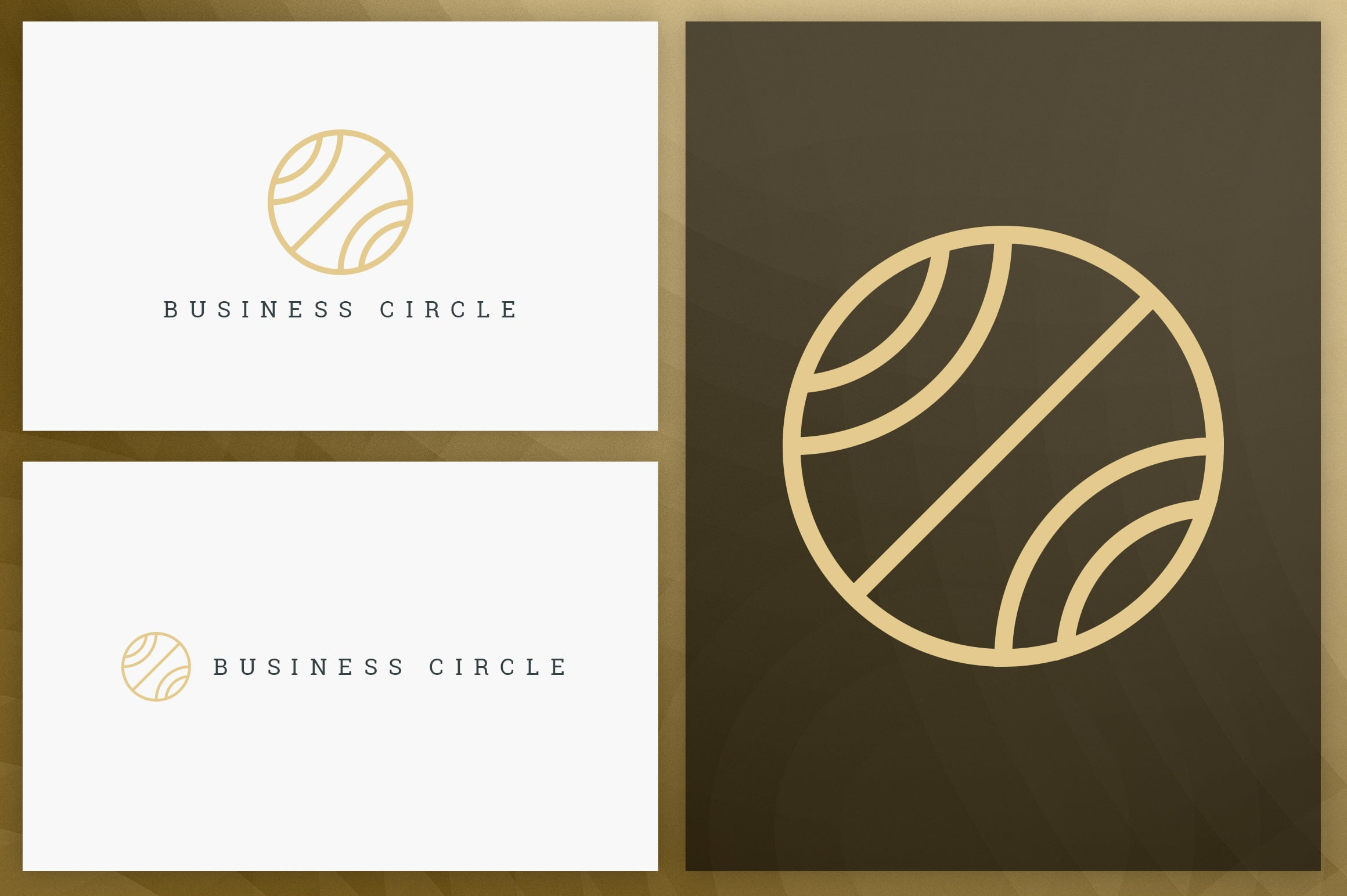 40 Circle Geometric Logo Designs - Logo02