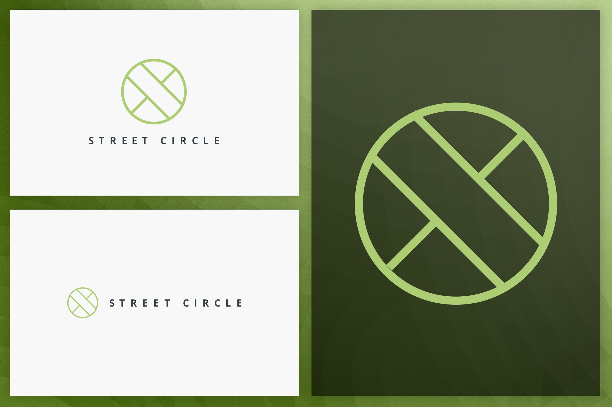 40 Circle Geometric Logo Designs - Logo03