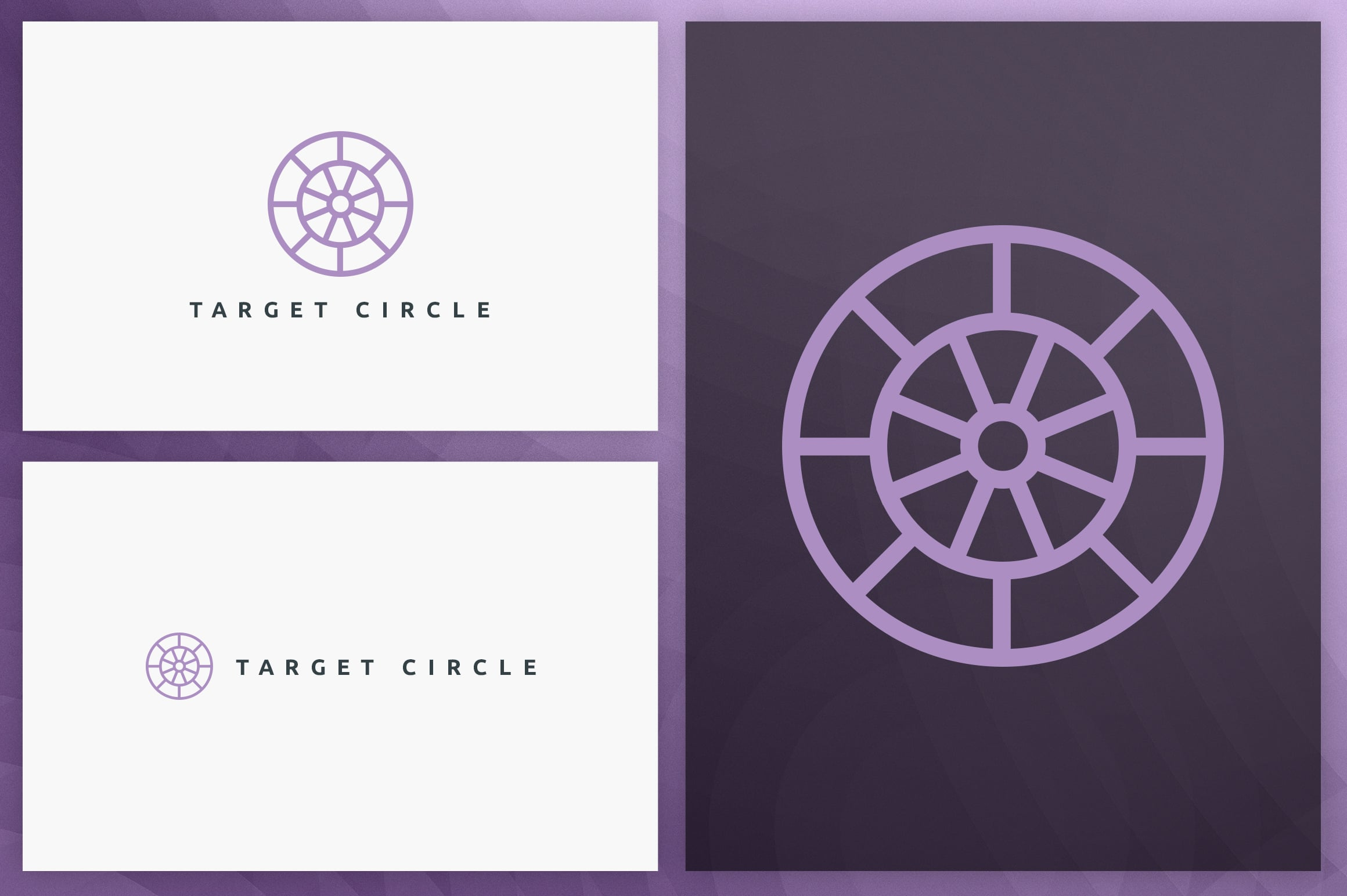 40 Circle Geometric Logo Designs - Logo05