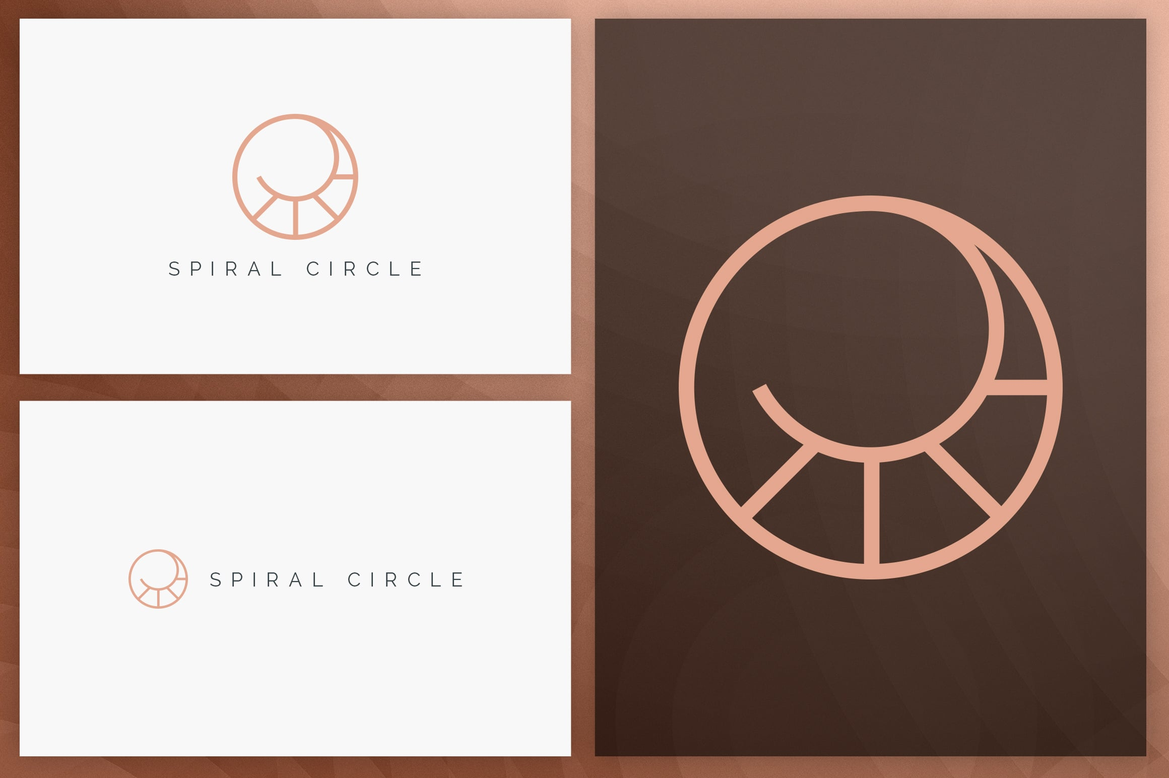 40 Circle Geometric Logo Designs - Logo06