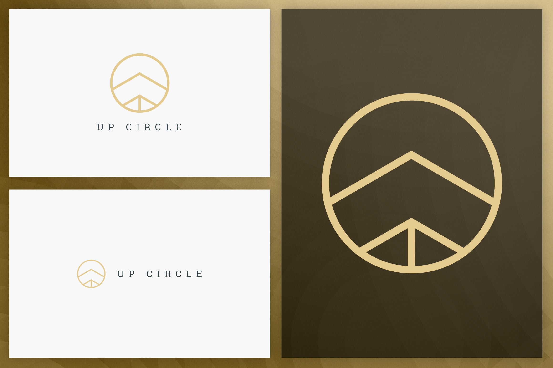 40 Circle Geometric Logo Designs - Logo07