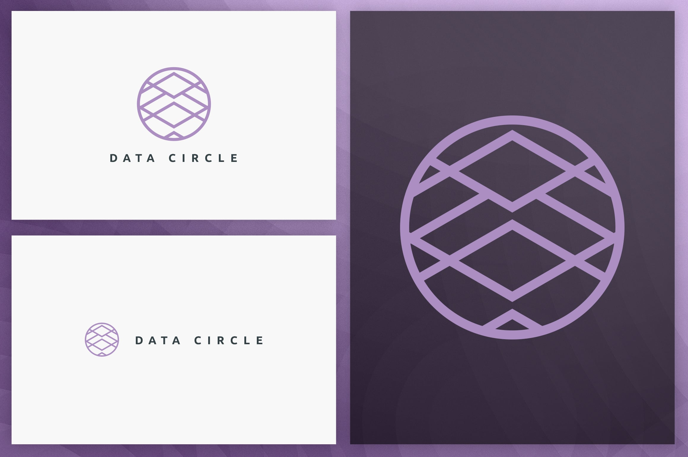 40 Circle Geometric Logo Designs - Logo15