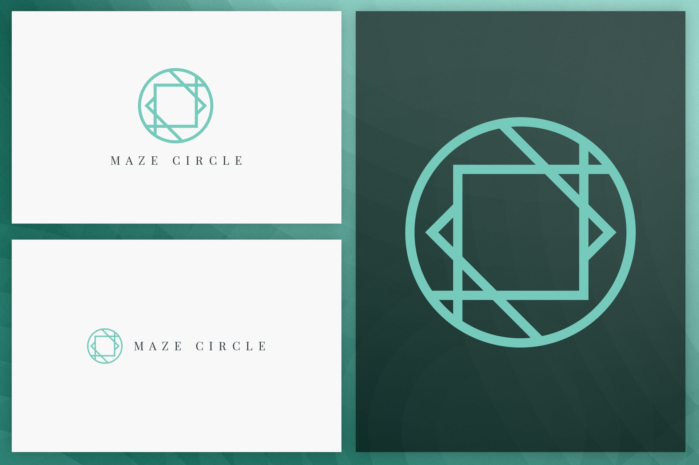 40 Circle Geometric Logo Designs