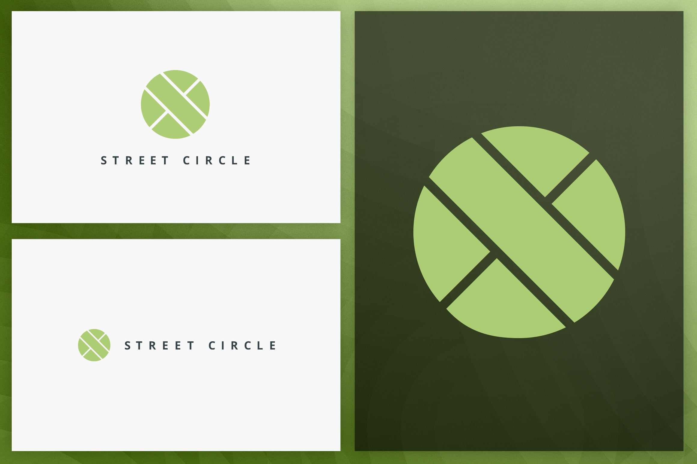 40 Circle Geometric Logo Designs - Logo23