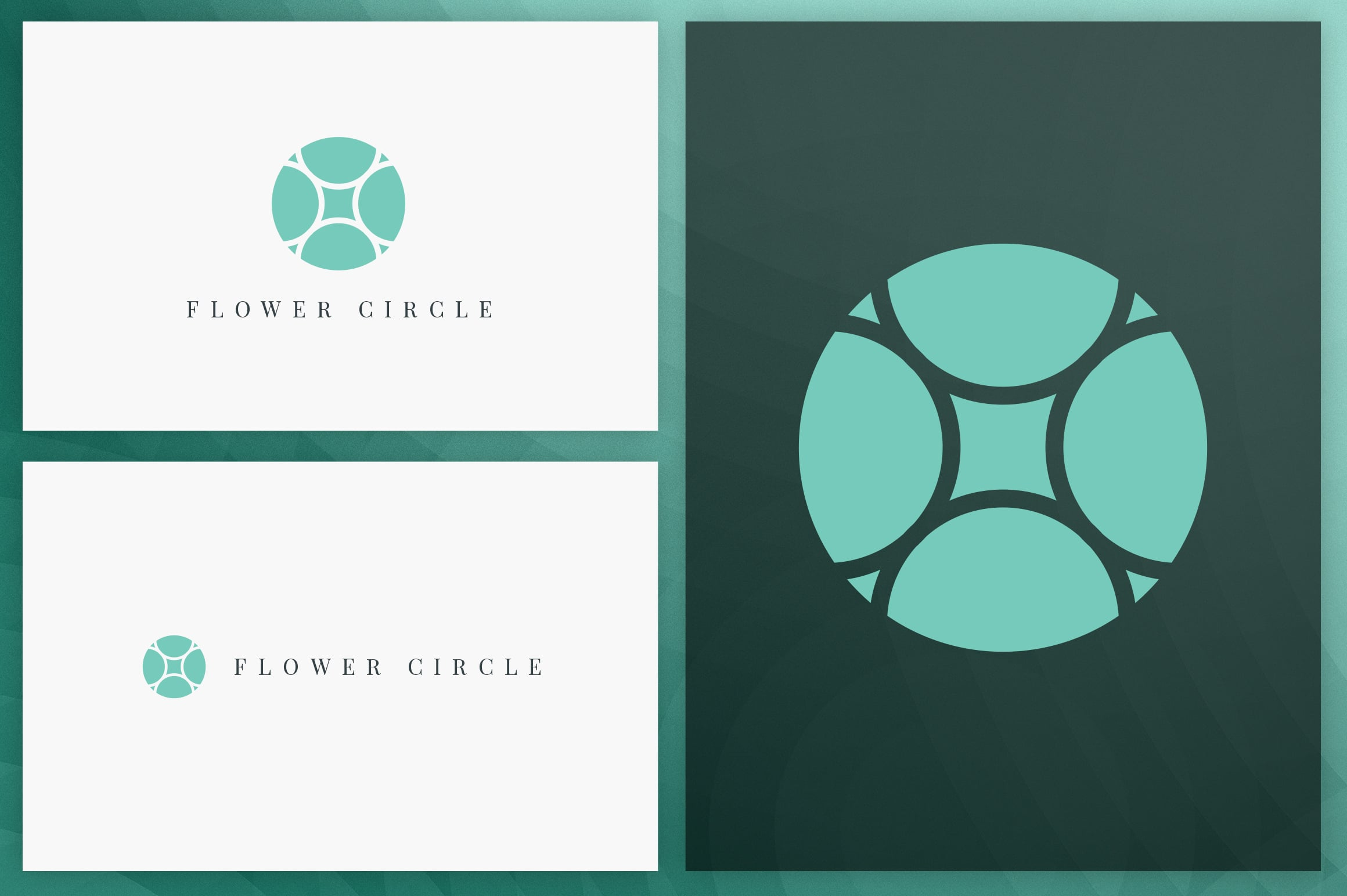 40 Circle Geometric Logo Designs - Logo24