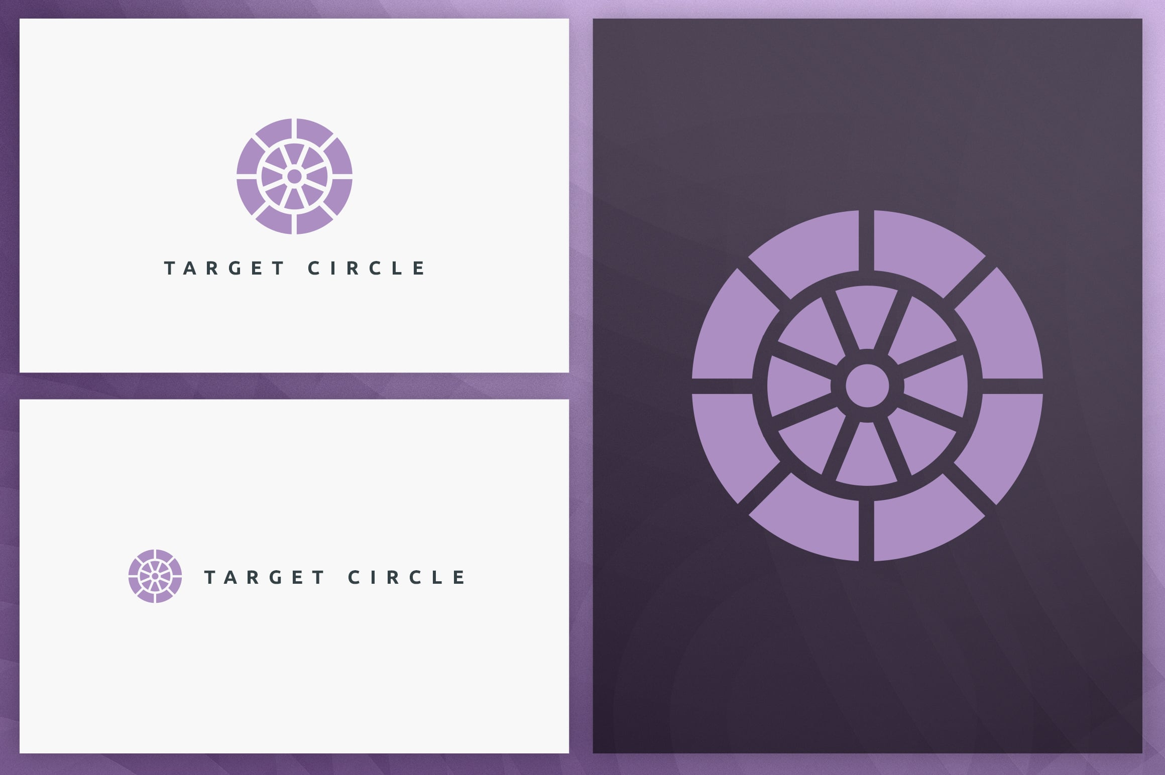 40 Circle Geometric Logo Designs - Logo25