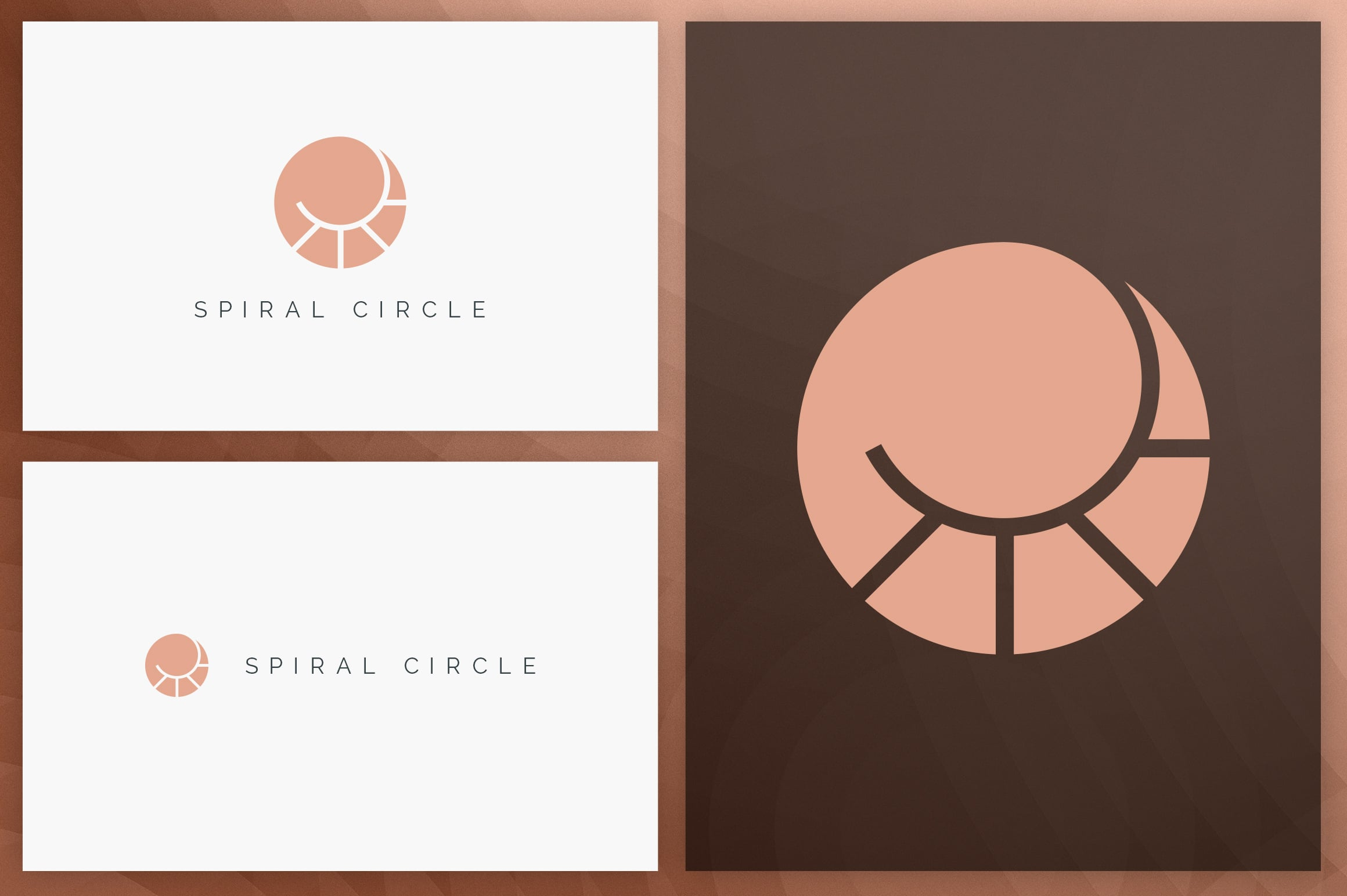 40 Circle Geometric Logo Designs - Logo26