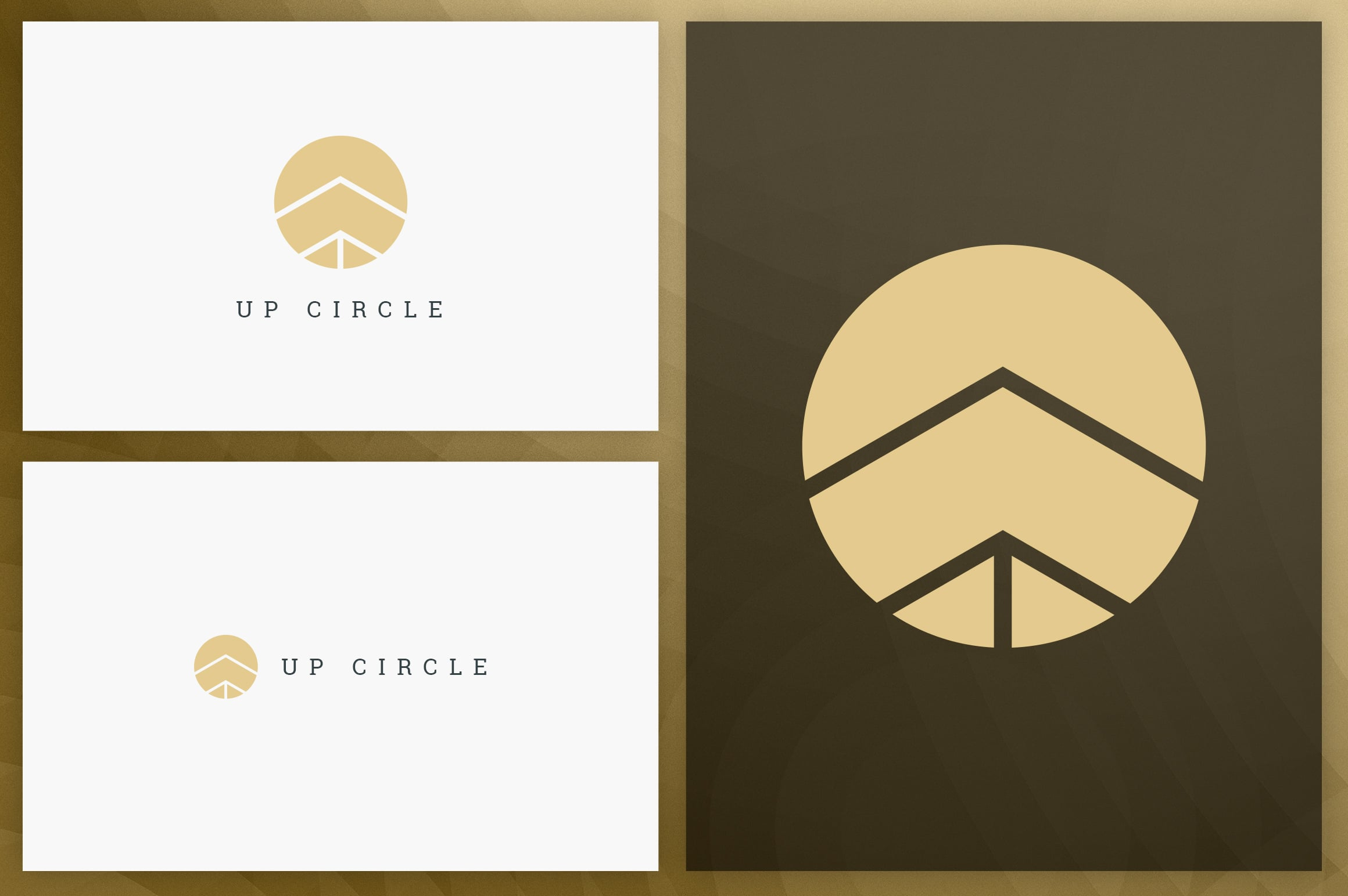 40 Circle Geometric Logo Designs - Logo27