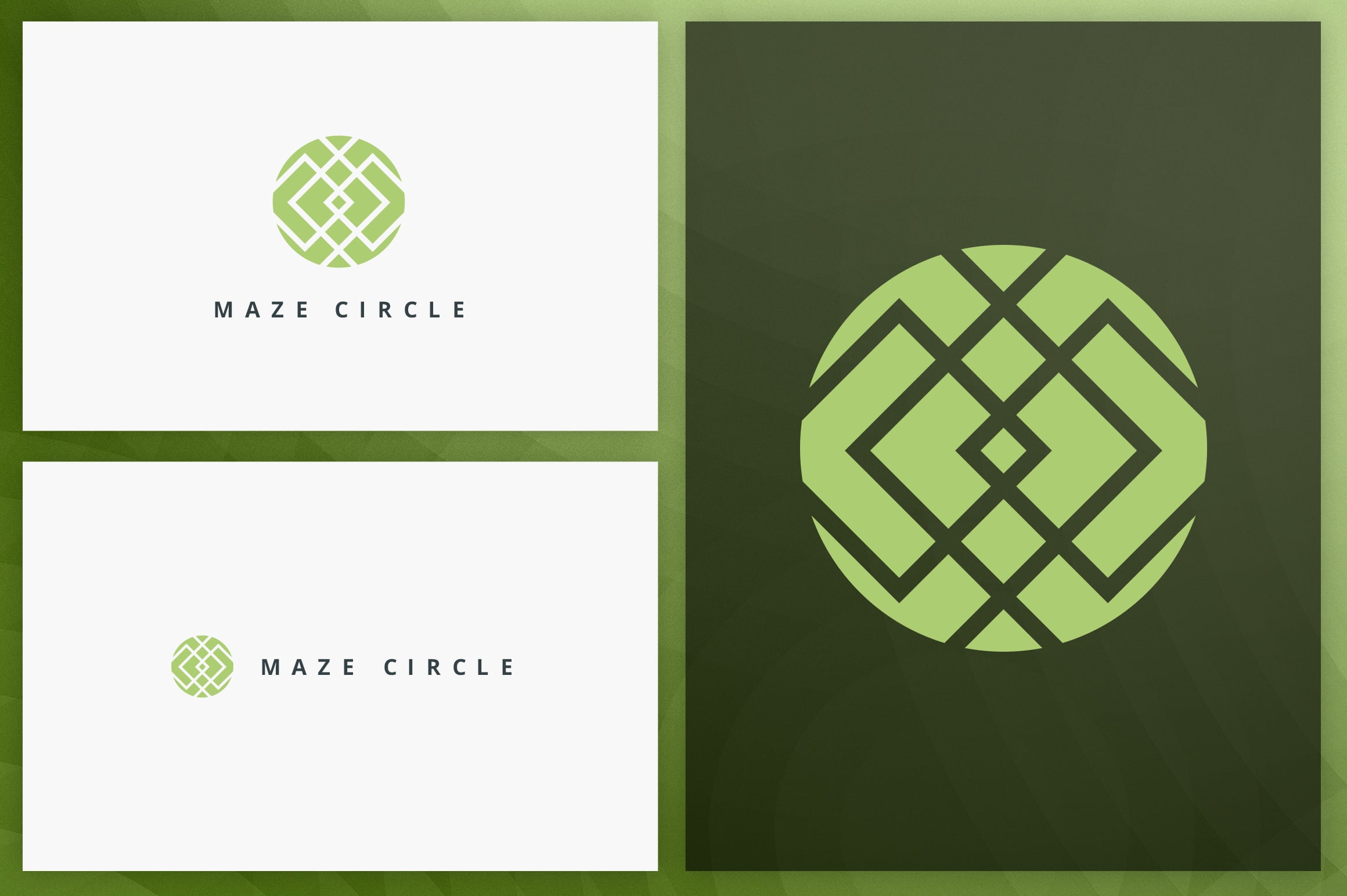 40 Circle Geometric Logo Designs - Logo28