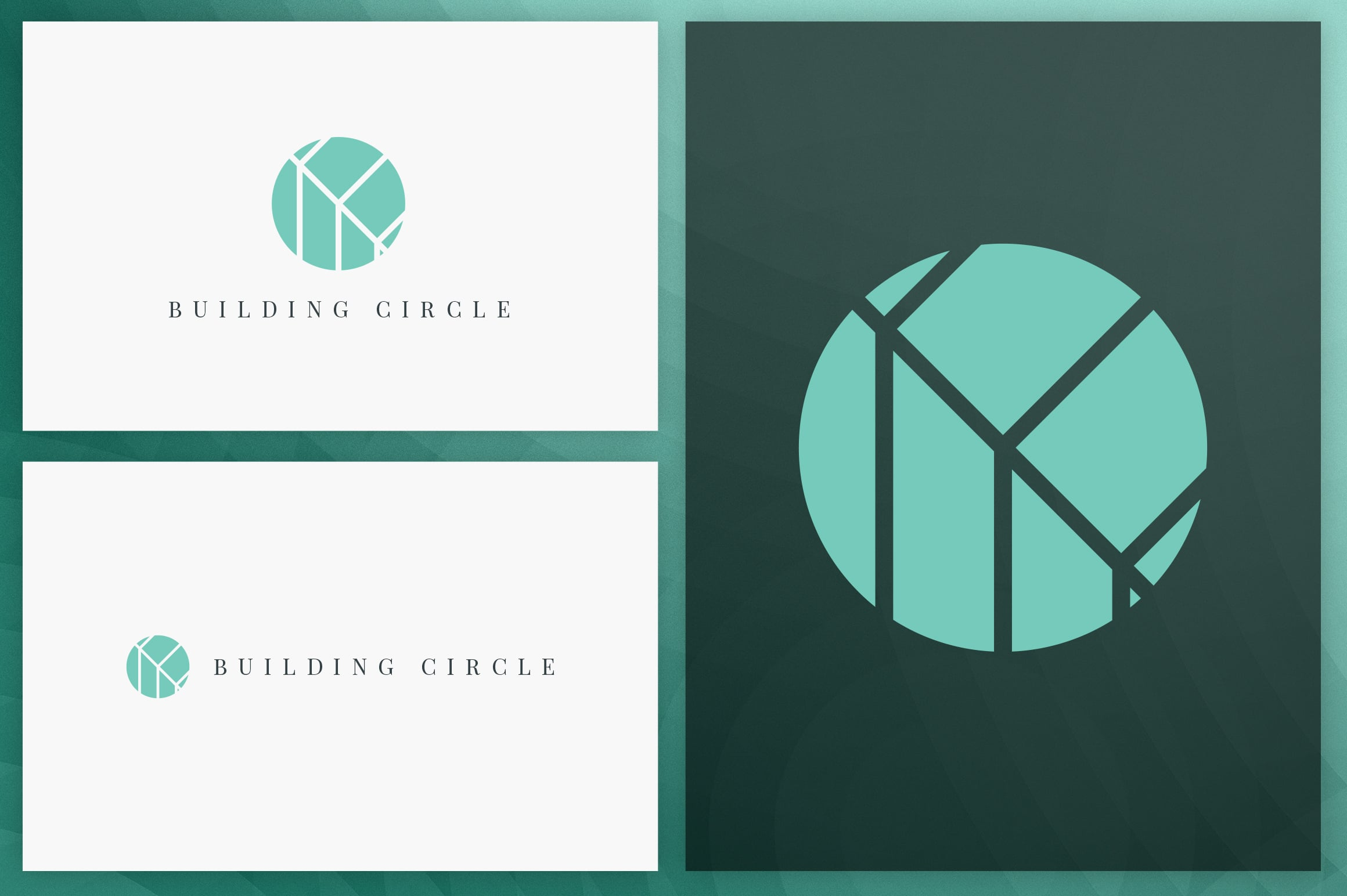 40 Circle Geometric Logo Designs - Logo29