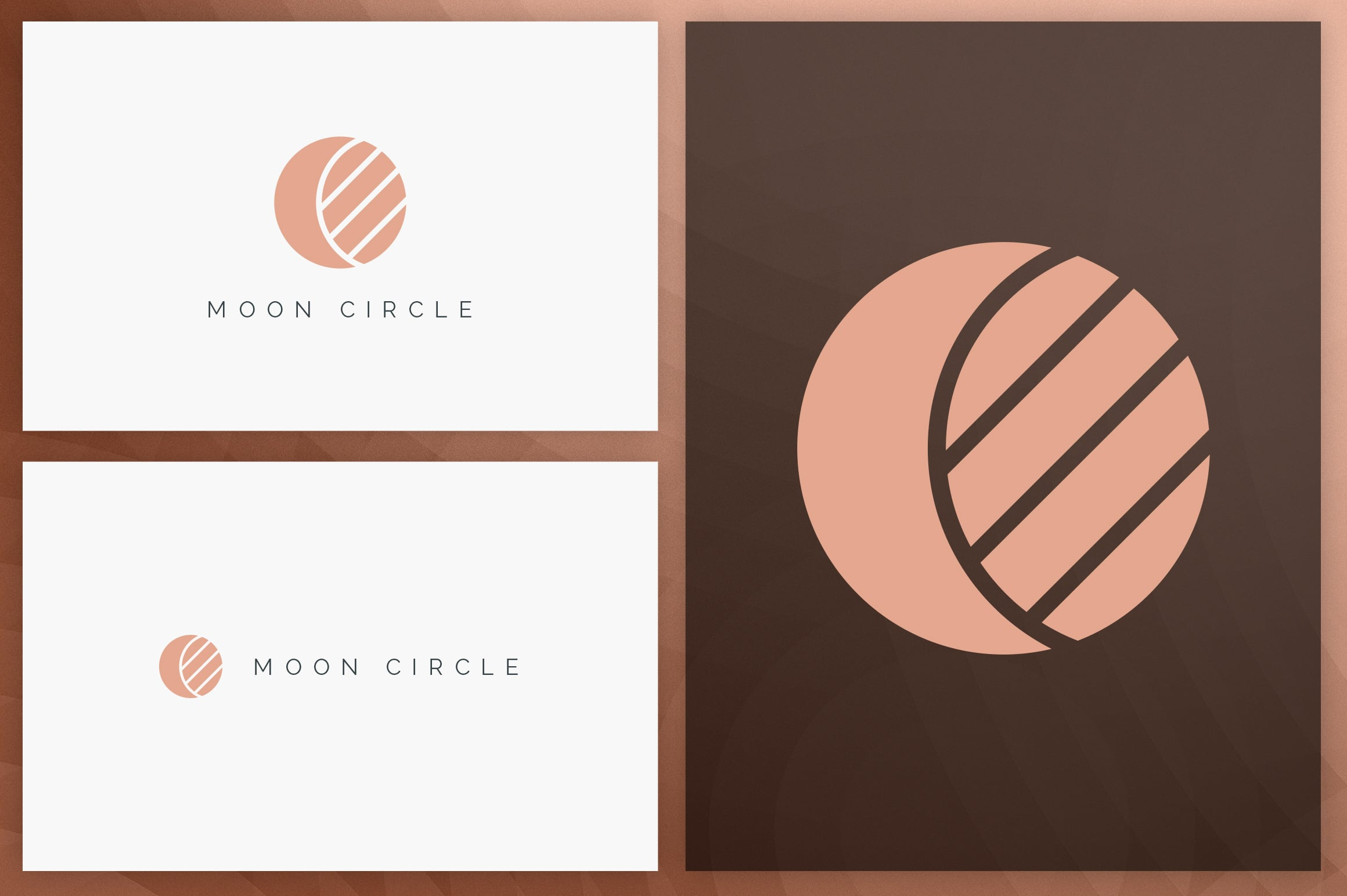 40 Circle Geometric Logo Designs - Logo31