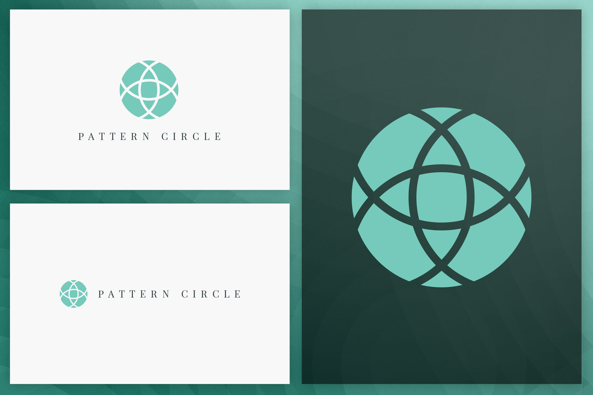 40 Circle Geometric Logo Designs - Logo34
