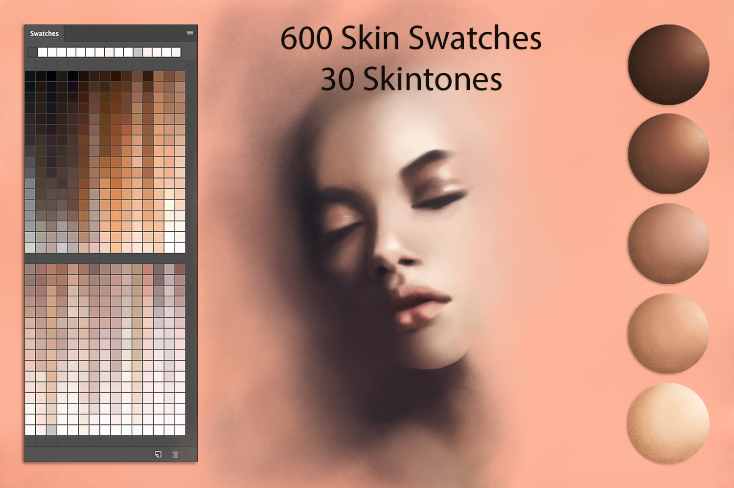 Digital Painting Assets - almost 3000 Elements - Skin
