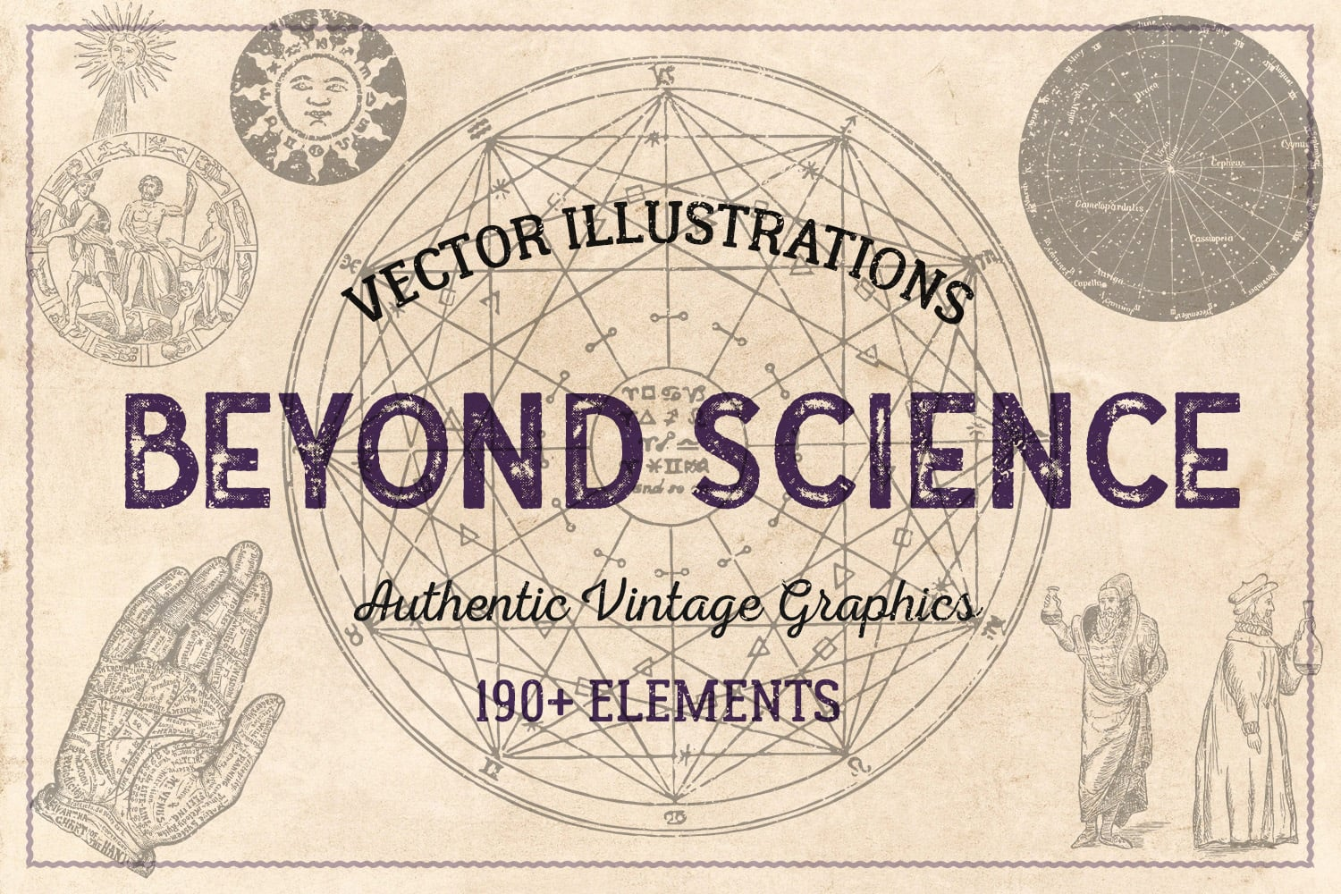 1000 Vintage Illustrations with 80% OFF - beyond cover