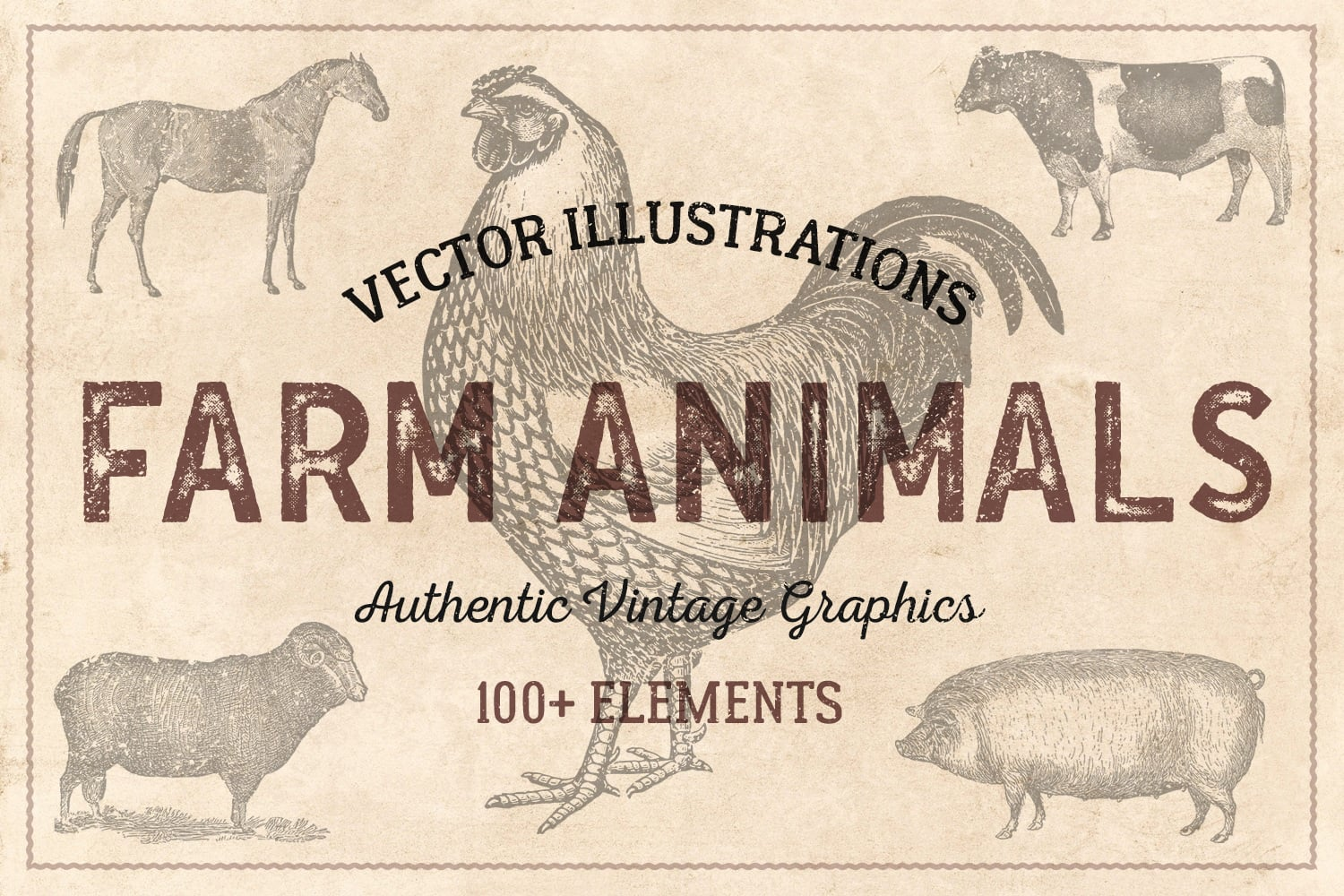 vintage illustrations animals