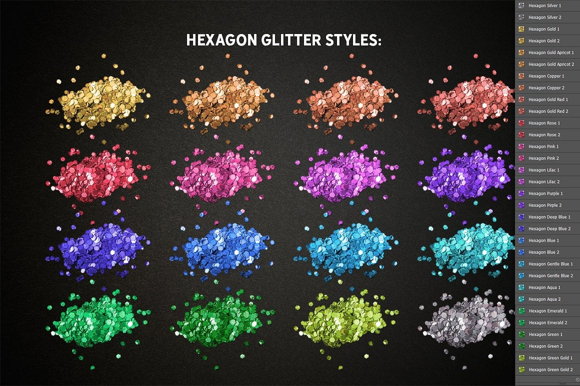 Glitter Effect Photoshop TOOLKIT - glitter effects photoshop view3