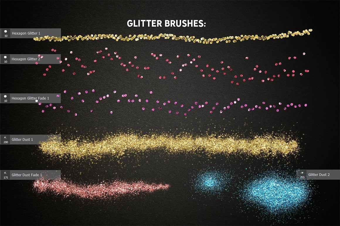 Glitter Effect Photoshop TOOLKIT - glitter effects photoshop view5