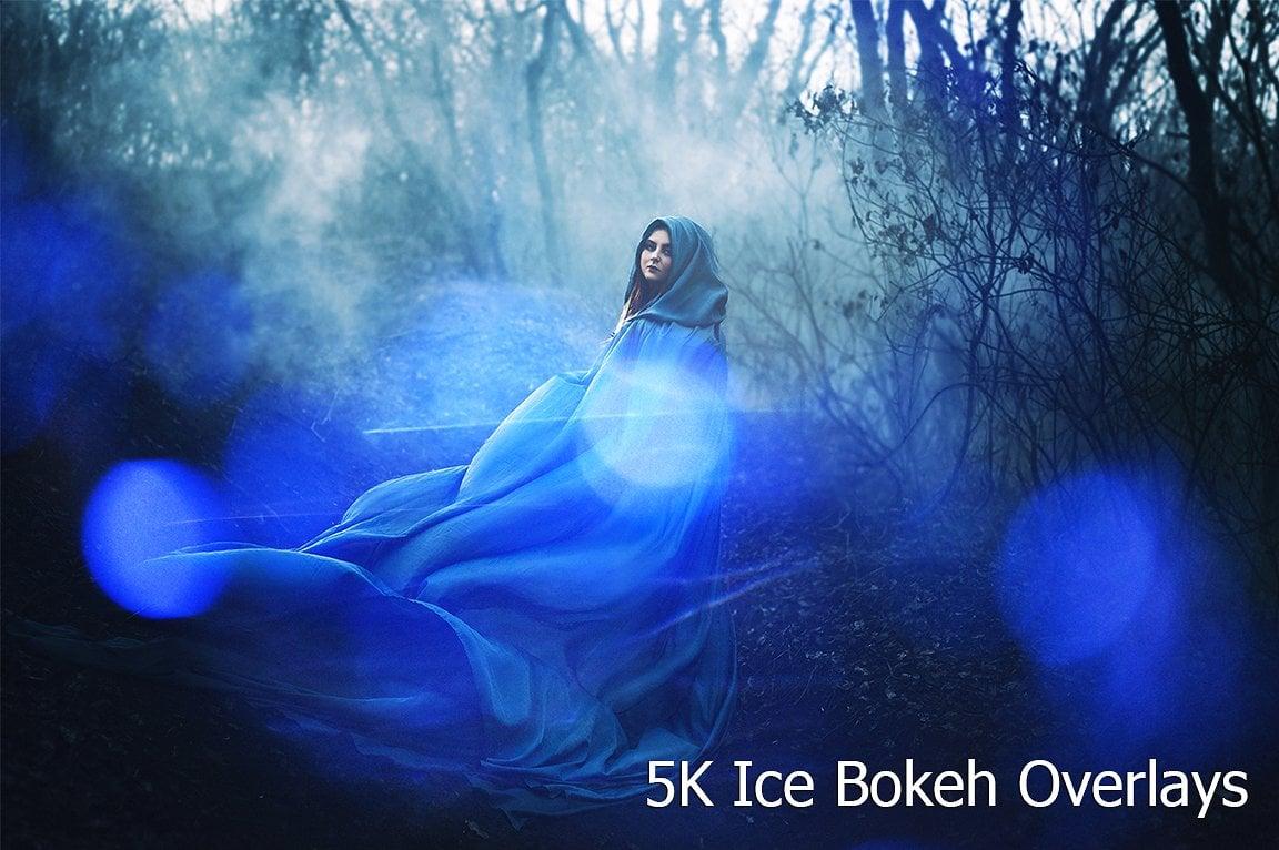 Ice Bokeh Overlays