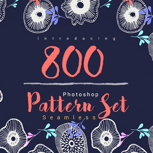 Bundle of Amazing 800 Seamless Pattern - Only $15! - 001 image