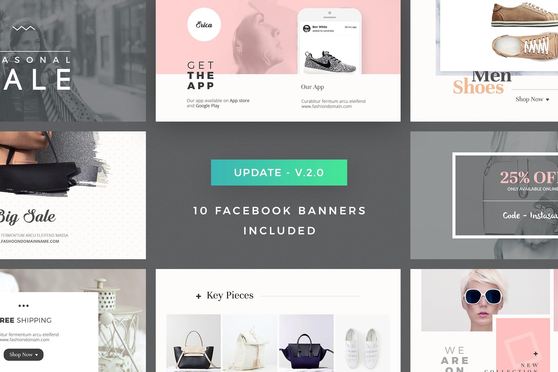 Social Media Packs - 70 Designs