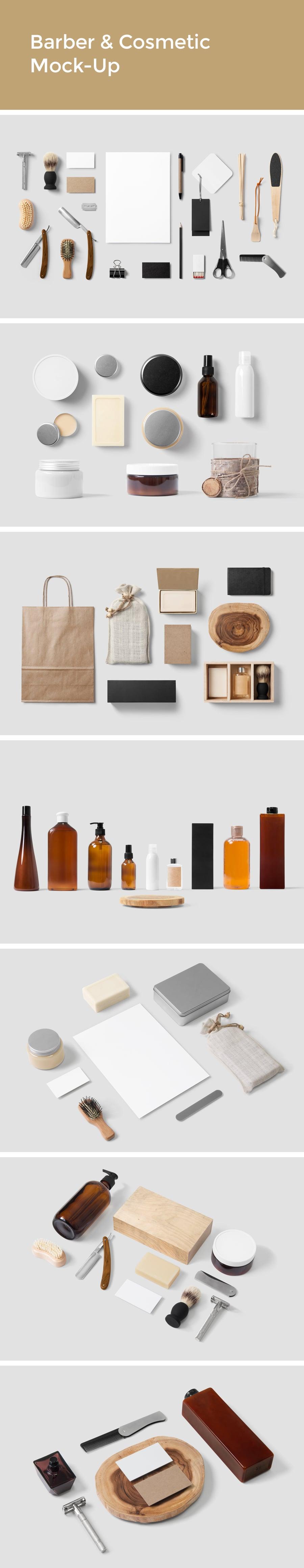 Apparel & Cosmetic Mockup Bundle