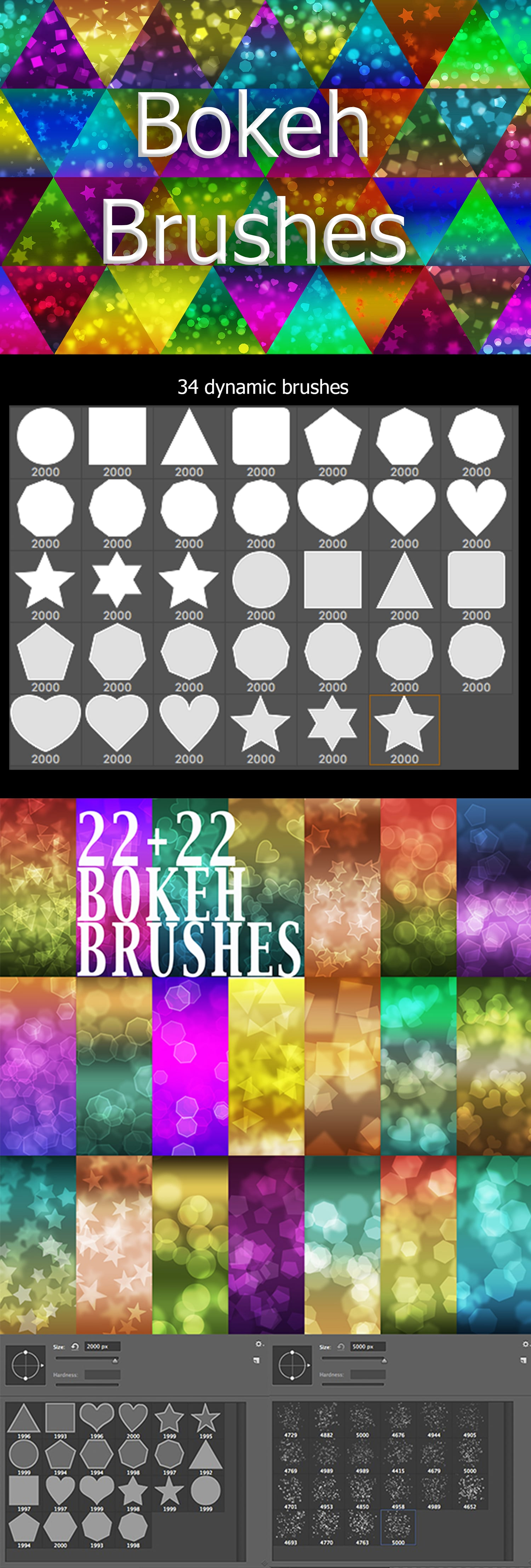2500+ Artistic Brushes + Extra Assets - 11 Bokeh