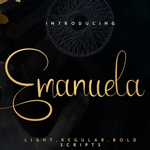 Emanuela Typeface and Designs - 490 490x490