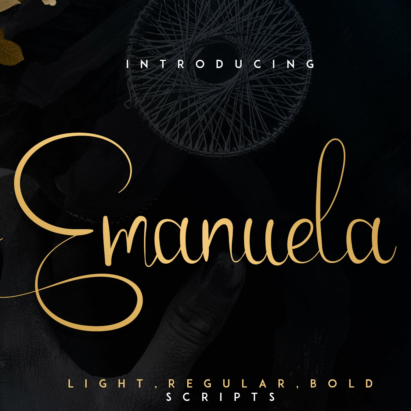 Emanuela Typeface and Designs main cover image.