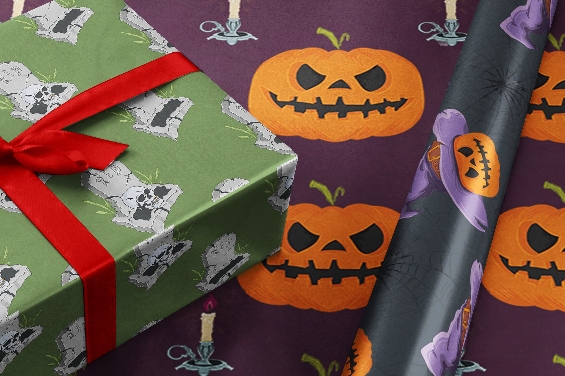 Tricks no Treat: 40+ Hand Drawn Halloween Illustrations - $10 - 6