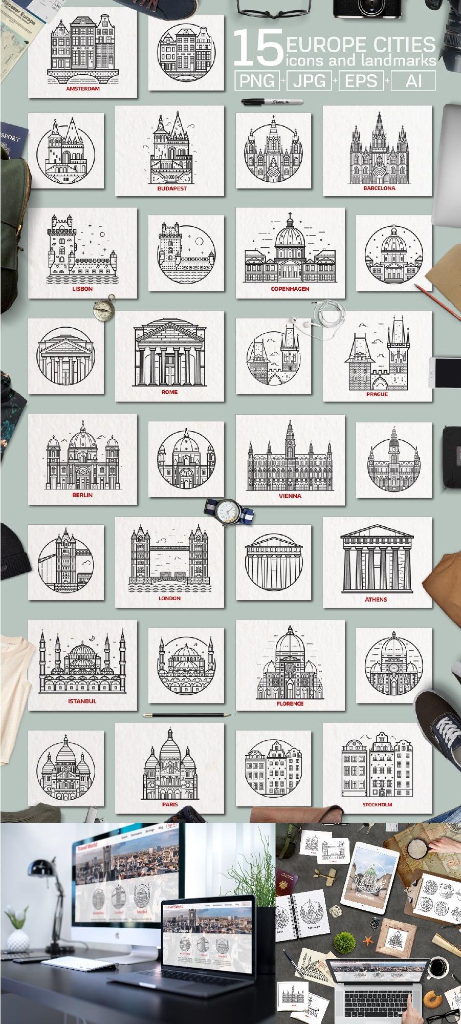 Travel Europe Cities Destinations
