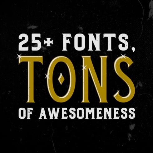 Twicolabs Font Bundle cover image.