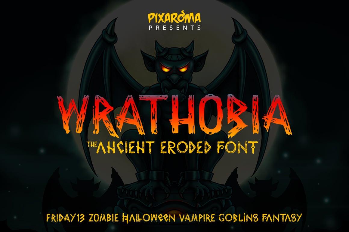 Wrathobia Halloween Font