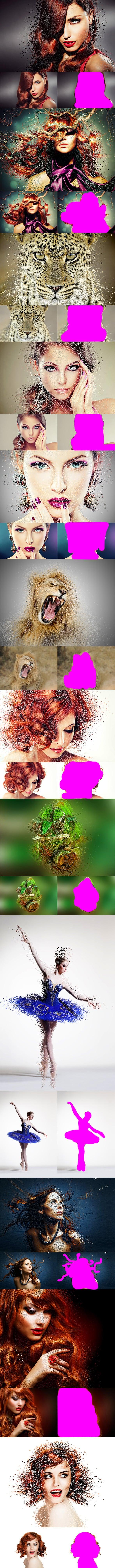 63 VSCO Photoshop Actions: Artistic Actions Bundle - just $9 - 12